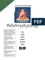 Mantra Do Buda Shakyamuni