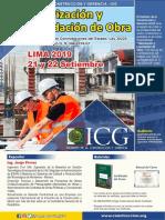 Icg - Valorización y Liquidación de Obra