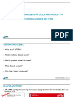 A Practical Awareness of Qualifying Product to the HPHT Design Guideline API 17TR8