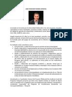 Presentación Fernando Ibarra