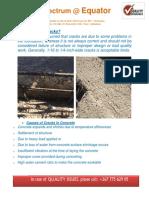 Correction on Foundation Cracks