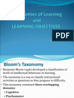 Taxonomies of Learning