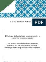 5 Estrategias de Porter