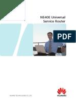 NE40E Universal Service Router 20120713
