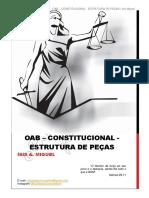 Direito Constitucional - Oab 2ª Fase - Estrutura de Peças