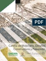 Cartilla de Mobiliario Detalles Constructivos y Paisajismo