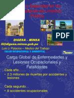 Seguridad y salud en el trabajo para personal de limpieza en el Peru