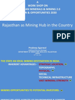 Rajasthan as Mining Hub in the Country FICCI 30.07.2019 Pradeep