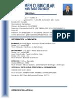 Curriculum Pedro Rafael 3