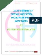 6. Puzzles PDF by GovernmentAdda.com