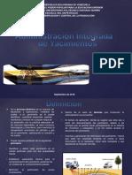 Planificacion Administracion Integral de Yacimientos