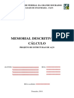 Memorial de Cálculo