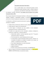 Lineamientos Documentos