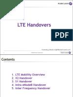 LTE Handovers