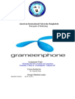 Grameen Phone Marketing Mix