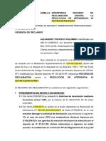 SOLICITUD de DEVOLUCION - Devolucion Denegada - Alejandro Torvisco Palomino