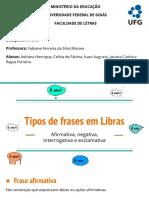 Tipos de Frases Na Libras