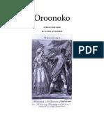 Oroonoko Study Guideor