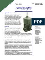 Hydraulic Amplifier