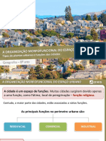 As Funções Urbanas e as Plantas Das Cidades