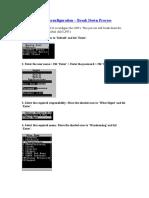 UPK LPN Reconfig - Break Down Process