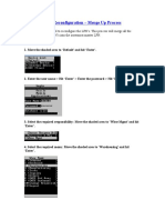 UPK LPN Reconfig - Merge Up Process