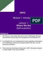 UHV2 M1 L1 - Introduction.ppt