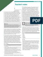 In Company 3.0 Pre-Intermediate Case Study Teacher's Notes