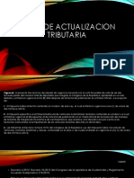Ley de Actualizacion Tributaria Exposición