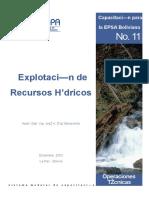 Explotacion de Recursos Hidricos
