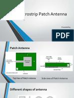 microstrip patch antenna brif intro