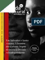 Agenda Cultural Novembro 2012