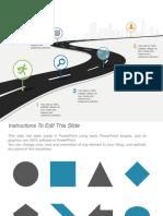 Roadmap Free PowerPoint Slide.pptx