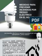 prevención de riesgo eléctrico en el hogar
