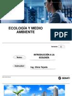 INTRODUCCIÓN ECOLOGIA 2019