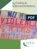 Ley Contra La Violencia Doméstica Que Incluye Las Reformas Introducidas Mediante La Ley 8925