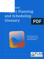 The Ultimate Project Planning and Scheduling Glossary-Plan Academy