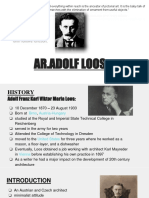 Adolf loose- life, philosophy and works