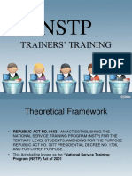 NSTP Trainers Training
