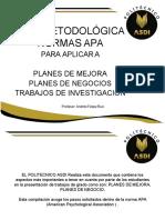 Guia Metodologica Normas Apa Politecnico Asdi