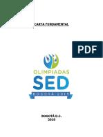 Carta Fundamental Olimpíadas Sed 2019