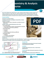 Cyanide Chemistry and Analysis Training Course Flyer