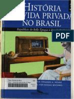 História Da Vida Privada No Brasil 03- Fernando a. Novais e Outros