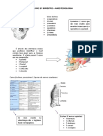 Resumo 1 Bim - Anestesiologia