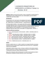 Informe Campo La Bicicleta - Dif. Promotores a La Semilla - 18-19
