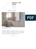 Pura Inspiração_ Banheiro é Todo Revestido de Porcelanato _ Arquitetura e Construção