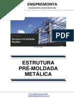 Estrutura Pré Moldada Metálica