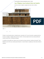 Casa de Alto Padrão Nas Filipinas Tem Fachada Feita Em Bambu – CicloVivo