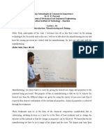 Lec1 Introduction Manufacturing and Joining