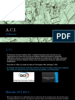 A.C.I - Dosificaion